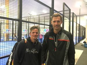 Samuel Boman och förre landslagsmålvakten i fotboll, Andreas Isaksson, gick till semifinal i A-klassen. Där blev det stopp mot blivande segrarna Hultman/Wachenfeldt med 1–6, 4–6.