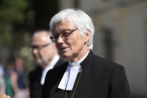 Antje Jackelén är Sveriges första kvinnliga ärkebiskop.Har en podd som heter