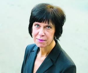 Skribenten Lilian Sjölund.