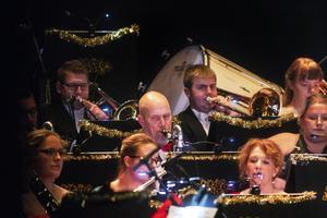 Bollnäs Blås arrangerade sin högtidliga nyårskonsert för trettiofemte gången.