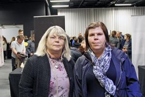 Mona-Britt Ljustell och Camilla Ljustell tyckte att utställningen var lärorik.