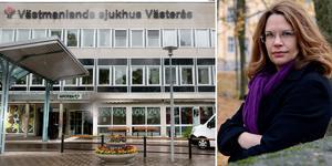Regionrådet Malin Gabrielsson (KD) undrar vilket ansvar de politiskt styrande har för städkaoset på Västmanlands sjukhus.
