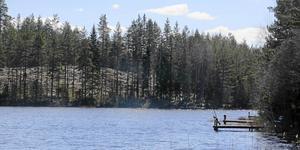 Hubo Långsjön i Hofors.