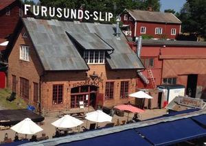 Krogen på Högmarsö, tidigare Högmarsö krog. Från och med i sommar är namnet Restaurang Varvet.