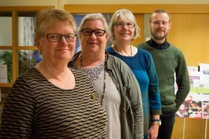 Monica Siggstedt från ABF Hälsingekusten, Carola Onelius från Bilda och Allis , Margareta Örn Liljedahl från Allis och Jens Öst från Vuxenskolan kommer att arrangera studiecirklar i sina studieförbund.