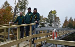 Stefan Jonsson, Elin Sandström och Björn Mårtensson.