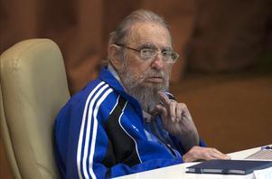 Någon i Malung tyckte att Fidel Castro skulle regera. Foto: Ismael Francisco/Cubadebate via AP