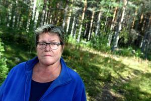 Lena Apel önskar att kommunen tänkte om vad gäller Återbruket.