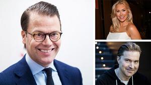 Prins Daniel, Blondinbella och Martin Lorentzon, Spotifys grundare, kommer till Sundsvall i april.