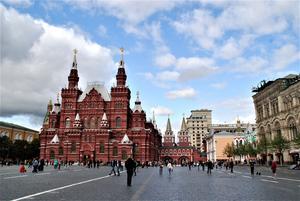 Röda Torget i Moskva.