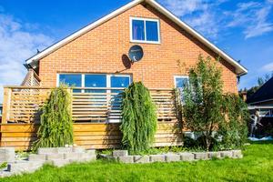 Från att bo i en lägenhet på Gärdet i Bollnäs var det ett guldläge att hitta ett eget hus med trädgård i Rengsjö.