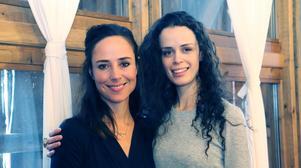 Sara Edberg och Cecilia Säverman gör två av rollerna i