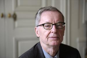 Anders Olsson, Svenska akademiens tf ständige sekreterare. Foto: Janerik Henriksson / TT