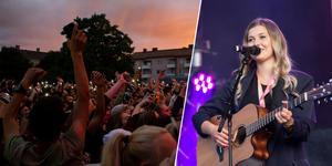 Linn Wikblad stod som vinnare under förra årets final av School's out live och fick uppträda på den stora festivalen.