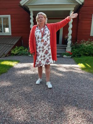 Guide Ann-Lena Söderlund. Foto: Britt Berglund