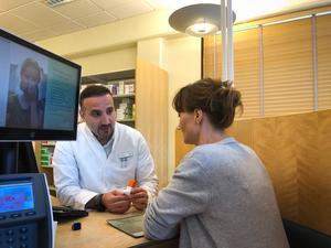 Både Mohamad Hassan och Maria Calles är utbildade apotekare.