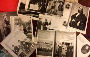 Rimbogruppen har förutom att samla ihop lokala berättelser även gått igenom mängder av tidningsklipp om Husebyaffären.
