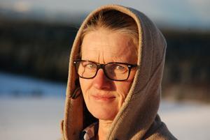 Kristina Åkermo är utbildad veterinär och jobbade som distriktsveterinär i tio år men släppte aldrig tanken på att vilja jobba som fårostystare.