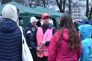 Danny Stacey var imponerad över hur många som deltog i loppet: åtta stafettlag samt en stor mängd spontana deltagare.