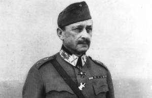 Marskalk Gustaf Mannerheim.