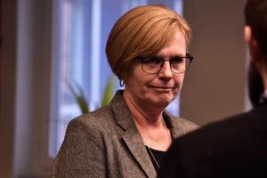 Ann-Marie Nilsson (C) fortsätter som ordförande i kommunstyrelsen.