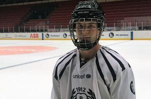 Victor Söderström är ännu en jättetalang i Brynäs. Men sin hockeyfostran fick han hemma i Skutskär.