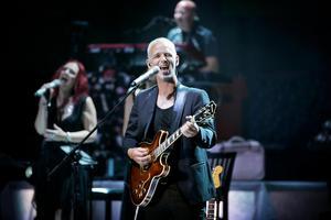 P-Floyd spelar i Globen i Stockholm på fredagen. Kapellmästaren och gitarristen Jan Stumsner tror att det blir