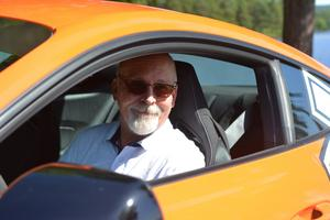Jojje Svensson är arrangör för Orsa Sportbilsfestival.