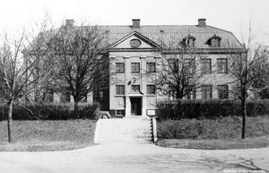Kävesta folkhögskola, 1930-tal. Foto: Eric Sjöqvist/Örebro stadsarkiv