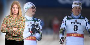 Ida Ingemarsdotter och Maja Dahlqvist fick kliva överst på pallen i Lahtis. Sportens Camilla Westin listar fem heta punkter från sprintstafetten.