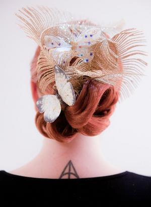 Frida älskar att fota och fångar gärna sina hårkreationer i vackra bilder. Foto: Frida Christine.