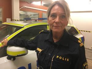 Inre polisbefäl Terese Heidenborg säger att polisen är intresserad av iakttagelser som allmänheten gjort i samband med att den anlagda branden utbröt vid Salaborg.