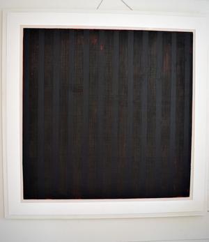 En svart fyrkant mer än hundra år efter Kazimir Malevitjs banbrytande dito. Men Kerstin Hedmans svärta är inte bara svart.