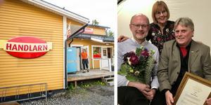 Skålans byaråd på prisceremomin i Stockholm. Bengt Karlström längst till höger. Foto: Arkiv och pressbild Coompanion.