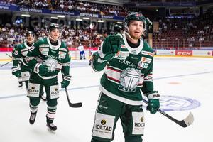 Tingsryds Daniel Öhrn fick jubla över både mål och tre poäng i matchen mot Leksand. Foto: Daniel Eriksson/Bildbyrån (arkiv)