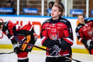 Adam Seydlitz noterades för ett mål och en assist i matchen mot Hanviken.