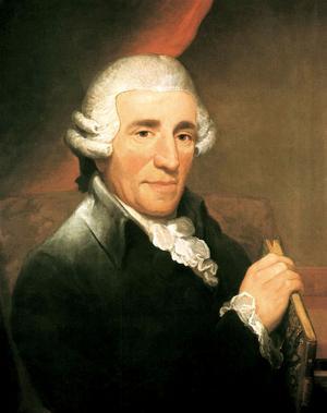 Joseph Haydn 1792. Målad av Thomas Hardy.