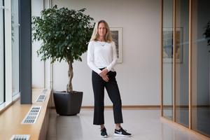 Katarina Ageborg har jobbat på Astra Zeneca sedan 1998, och suttit i koncernledningen sedan 2011.