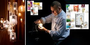 Ljuset hos den energisnåla ledlampan är inte alltid helt likt en glödlampa, visar Testfaktas test. Foto: Anna Sigge