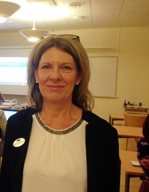 Susanne Hedberg-Eriksson konstaterar att intresset för att den nystartade utbildningen varit stor. FOTO: Arvid Nordin