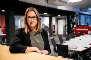 Karin Näslund, chefredaktör och ansvarig utgivare, tycker att det är viktigt att både barn och vuxna tar del av det som händer i samhället.