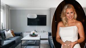 Isabella Löwengrip säljer sin villa på Lidingö. Foto: Hemnet och TT. Bilden är ett montage.