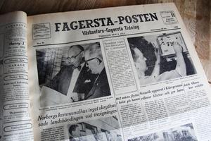 Tisdagen den 8 juli skrev Fagersta-Posten om invigningen av Norbergs kommunhus.