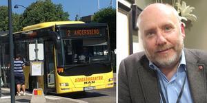 Busstrafiken i Gävleborg kommer att skäras ned, enligt Jan Lahenkorva.