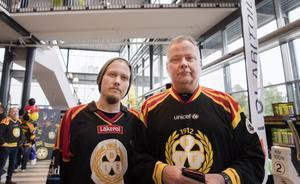 Trots att de kommer från Dalarna och Avesta är Brynäs laget närmast hjärtat för Robin Schef och Sven-Olof Quist.