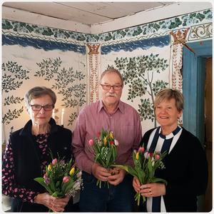 Trogna medlemmar tackades i samband med Edsbygympans årsmöte.