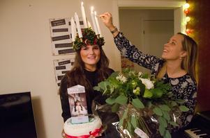 Maria Byström nominerades till Jämtlands lucia av en tidigare vinnare av tävlingen, Lisa Edlund, som bar ljuskronan 2014.