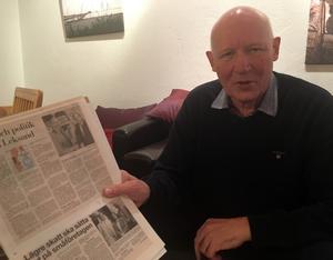 Bertil Daniels tog över som kommunalråd i Leksand när Björn Doverskog gick över till ishockeyn. En fullträff, både för Doverskog och Leksands IF menar Daniels: