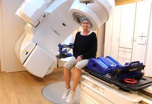 Det har varit en tuff resa för  bröstcancersjuka Madelene Zell. Men nu är det inte många behandlingar kvar.