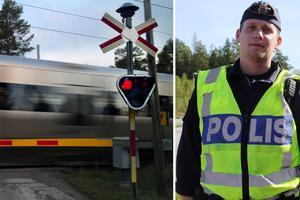 Många av de brott som allmänheten begår till vardags är allvarliga brott menar Salapolisens  gruppchef Erik Hägglund som känner igen exemplen som tidningen listat. Foto: Terese Ahlin/ arkivbild/bildmontage